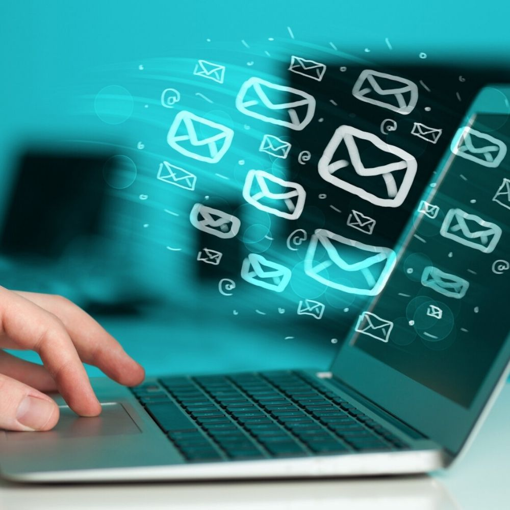 scrivere e-mail utilizzando marketing