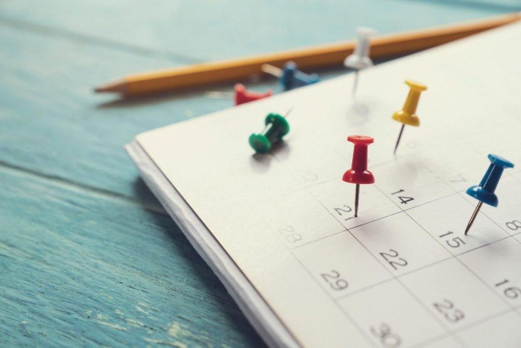 Il calendario commerciale per i negozi