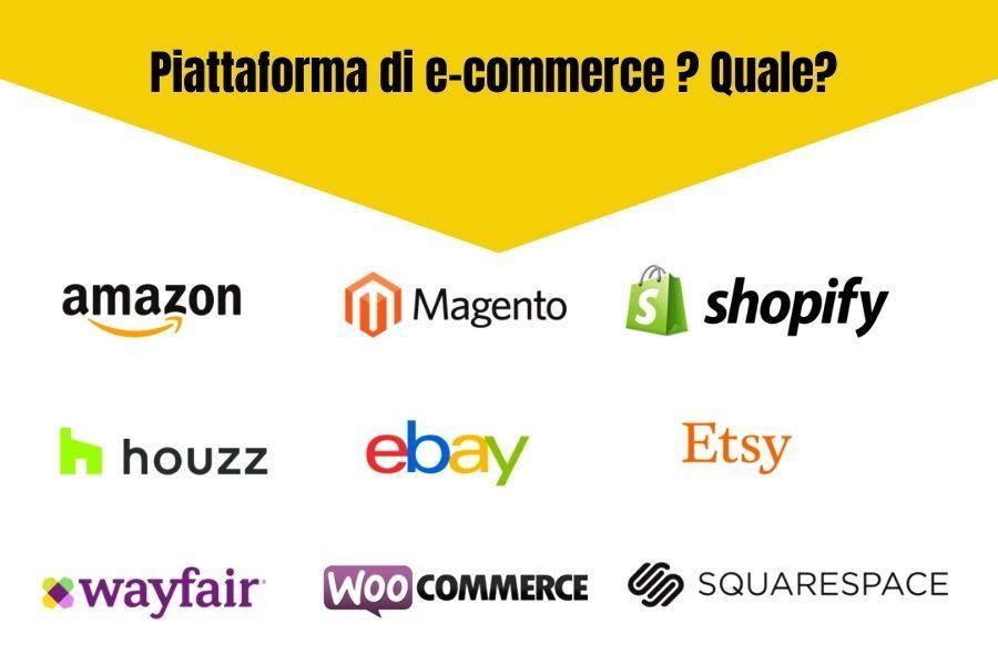 come creare un negozio online